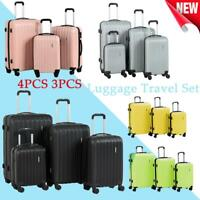 4-Piece Hardside Luggage Set with Spinner Wheels Lightweight 16'' 20'' 24'' 28''