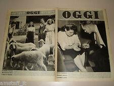 OGGI=1948/34=ALCIDE DE GASPERI=ROBERT PENN WARREN=OLIMPIADI LONDRA=LUGO=ASTRID=