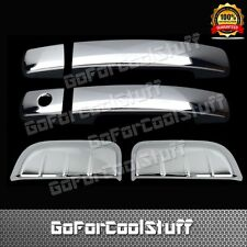 For 05-12 Nissan Pathfinder 2Drs W/O Psgkh+2 Rear Side Doors Chrome Covers