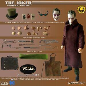 New Mezco One:12 Collective Batman Gotham By Gaslight The Joker Deluxe Edition
