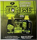 MOSSY OAK Eclipse Clothing Care Kit: Clothing Spray, Dryer Sheets, Laundry Deter