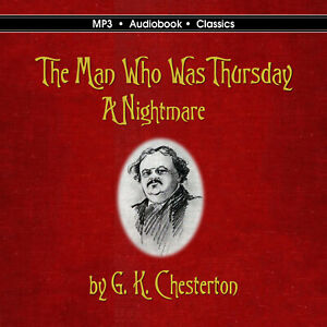 The Man Who Was Thursday -  MP3 CD Audiobook in CD jacket