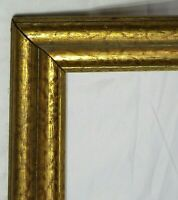 "VINTAGE FITS 12"" X 16"" GOLD GILT COUNTRY PRIMITIVE WOOD FRAME FINE ART VICTORIAN"