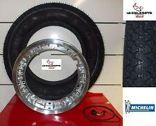 KIT TUBELESS RIM + TYRE 3-50-10 MICHELIN S83 VESPA PX 150