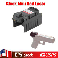 Tactical Compact Mini Red Dot Laser Sight For Airsoft Glock 17 19 23 25 26 31 34