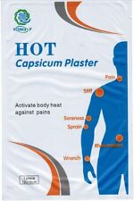 Heat Patch Ache Relieving Herbal Capsicum Balm   10x LARGE-SPORTS INJURY PATCH