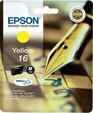 ORIGINAL EPSON 16 YELLOW C13T16264010 T1626 WF 2010 2530 2630 2650 2660 NEW UK