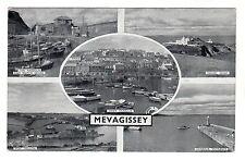 Mevagissey - Multiview Photo Postcard circa 1940s