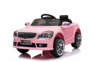 Mädchen Elektro Auto Fahrzeug Elektroauto Kinderelektroauto Kinderfahrzeug PINK