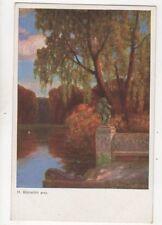 Ruedisuehli Parkmotiv Vintage Art Postcard 259b