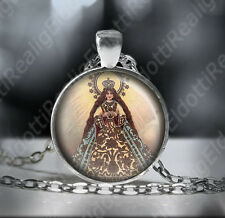 Our Lady of Peace and Good Voyage Catholic Necklace - Virgin of Antipolo Pendant