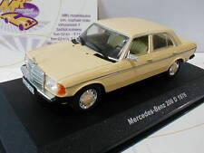 """Solido s4301600-Mercedes-Benz 200 d año de fabricación 1976 en """"amarillo claro"""" 1:43 nuevo"""