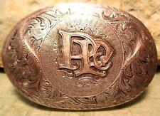 FANTASTIC 10K Gold & Solid Sterling Silver (PAY-PAL Co) PP Belt Buckle