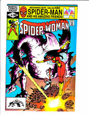 """SPIDER-WOMAN #41  [1981 NM-]  """"LA MORTE DE JESSICA"""""""