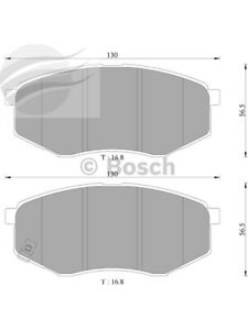 Bosch Brake Pad Front Set For Hyundai I45,Ix35 For Kia Sportage (DB2072BL)
