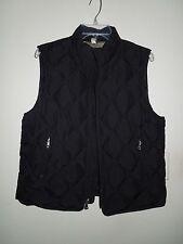 NWOT Tommy Hilfiger Black Down Feather Filled Puffer Vest Large