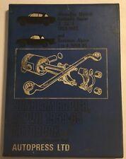 SUNBEAM RAPIER 3 3a & 4 + ALPINE 1 2 3 & 4 AUTOPRESS WORKSHOP MANUAL 1959-1965