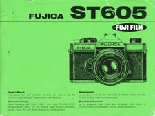 Fuji Fujica ST605 Instruction Manual original multi-language