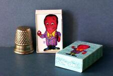 Dollhouse Miniature 1:12 Flip Wilson Doll Box  1960s dollhouse accessory