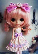 [wamami] Cute Handmade Blythe Doll Outfit Pullip Dress Azone Lolita Style