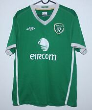 Republic of Ireland National Team home shirt 10/12 Umbro