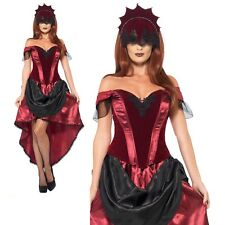 Pleasant Nightmares Skirt Hat Gothic Vampire Witch Fancy Dress Halloween Costume