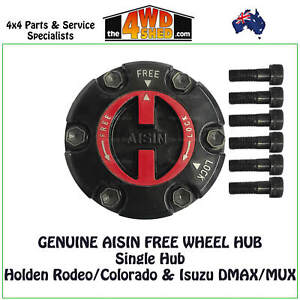 AISIN Manual Free Wheel Single Hub suit Colorado Rodeo DMAX - FHG-001