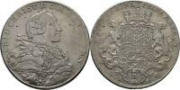 Brandenburg Bayreuth Friedrich Christian, 1763-69 Taler 1766 Löwe #Alb.717
