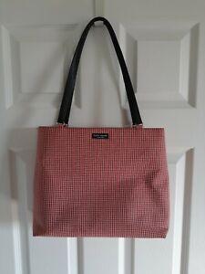 Kate Spade New York, Red and White Checkered, Handbag