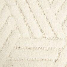 2pc Bath Mat Rug Set 100% Cotton Plush Textured Absorbent Color Rich 21x34 17x24