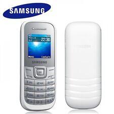 TELEFONO CELLULARE BIANCO WHITE SAMSUNG GT-E1200 KEYSTONE 2 GARANZIA NUOVO