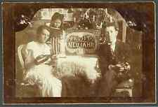 Premier janvier 1923 ! Vintage silver print Tirage argentique  8x13  Circa