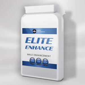 ELITE ENHANCE - MALE ENHANCEMENT PENIS ENLARGEMENT PILLS - 3 Month Supply - NEW!