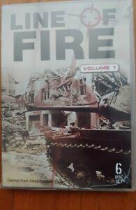 Line Of Fire Vol 1 Brand New DVD 6 disc set