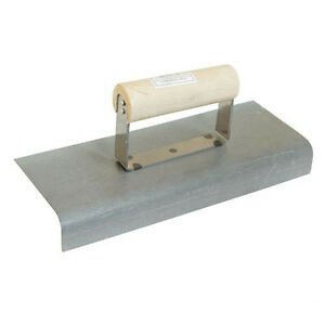 250mm x 100mm Cement Edging Trowel – Building Bricklaying Edge Trowel – DIY Tool