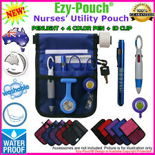 Value Pack High Quality Nurse Pouch & Medical Pen Light + 4 Color Pen + ID Clip