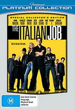 The Italian Job - Action / Thriller - Mark Wahlberg, Edward Norton - NEW DVD