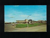 C 1960 Thruway Motel New York State Thruway Exit 24 Albany New York Postcard