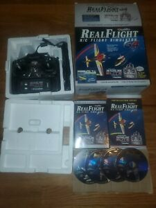 Real Flight R/C Simulator G4 Interlink Elite Controller COMPLETE IN BOX! RARE!