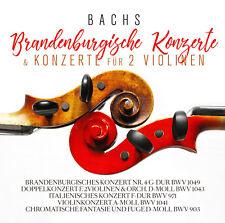 CD Bach Brandenbourg Concerts, Concerts pour 2 Violons