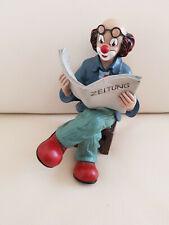 Wohnaccessoires,deko,sammlerstücke - Gilde Clowns - Der Zeitungsleser