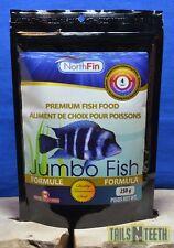 NorthFin Jumbo Fish - 4mm Pellet 250g - Premium Fish Food - Made in Canada