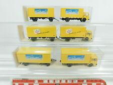 bd314-0, 5 #3X Wiking H0 / 1:87 Box Truck / Truck Man Post: 25 551 +551 26 NIP