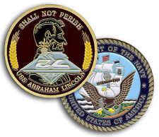 US Navy CVN-72 USS ABRAHAM LINCOLN Aircraft Carrier Challenge Coin (CC-026a)