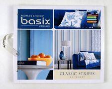 Wallpaper Sample Book Scrapbooking Paper Crafts Card Making Basix Choice Stripe