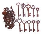 Antique Iron Skeleton Keys  Lot of 200 Steampunk