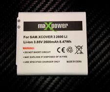 Akku für Samsung Galaxy Xcover 3 G388F X Cover Accu Batterie Ersatzakku 2600 mAh