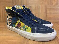 RARE🔥 VANS Sk8-Hi The Beatles Yellow Submarine Sz 10 Men's Skateboarding Shoes