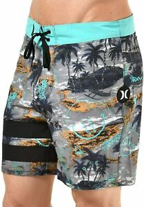 "Hurley Men's Phantom Block Party Outrigger 16"" Boardshorts - Black"