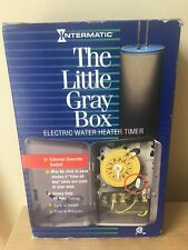 "New Intermatic Electric water heater time switch ""The little gray box"""